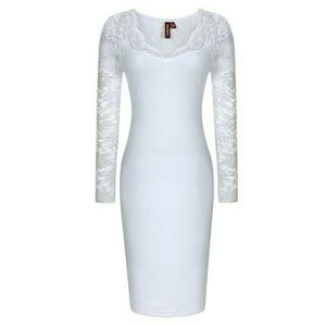 Dresses & Skirts - BOGO NWOT Beautiful White lacy dress